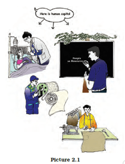 NCERT Solutions for Class 9 Economics Chapter 2 People as Resource image 1
