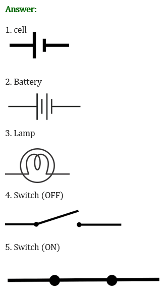 NCERT Solutions for Class 6 Science Chapter 12 Electricity and Circuits image 11